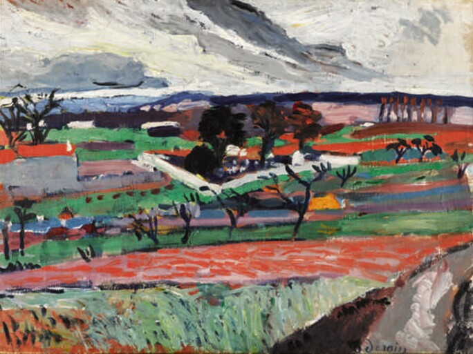 André Derain, Paysage de l'Ile-de-France, 1904-05