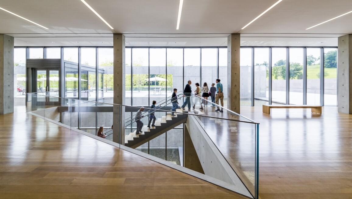 Interior View, Clark Art Institute