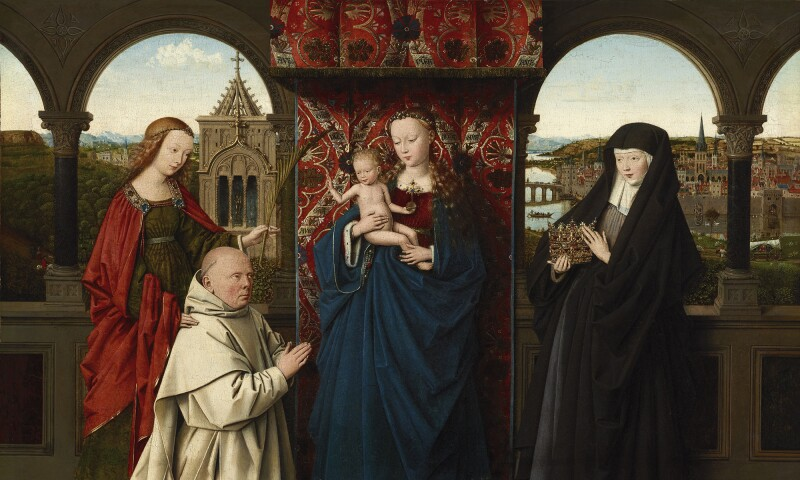 The Virgin and Child with St. Barbara, St. Elizabeth and Jan Vos