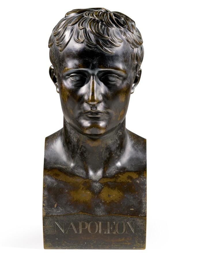 Antoine-Denis Chaudet, early 19th century Bust of Napoleon. Estimate £3,000—5,000