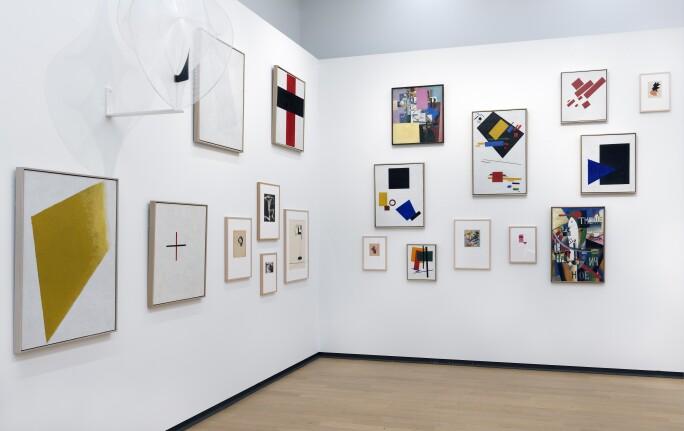 Installation view Stedelijk BASE, collection Stedelijk Museum Amsterdam