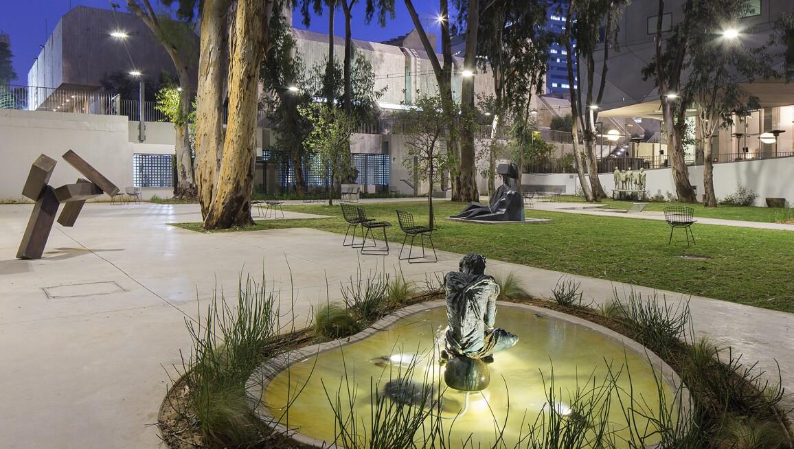 Interior View, Lola Beer Ebner Sculpture Garden in Memory of Dolfi Ebner