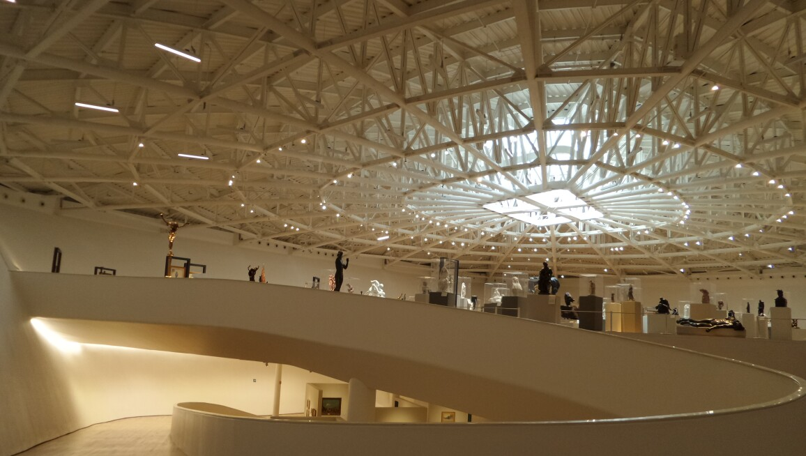 Interior, Museo Soumaya, Plaza Carso