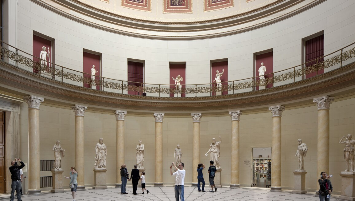 Interior View, Altes Museum