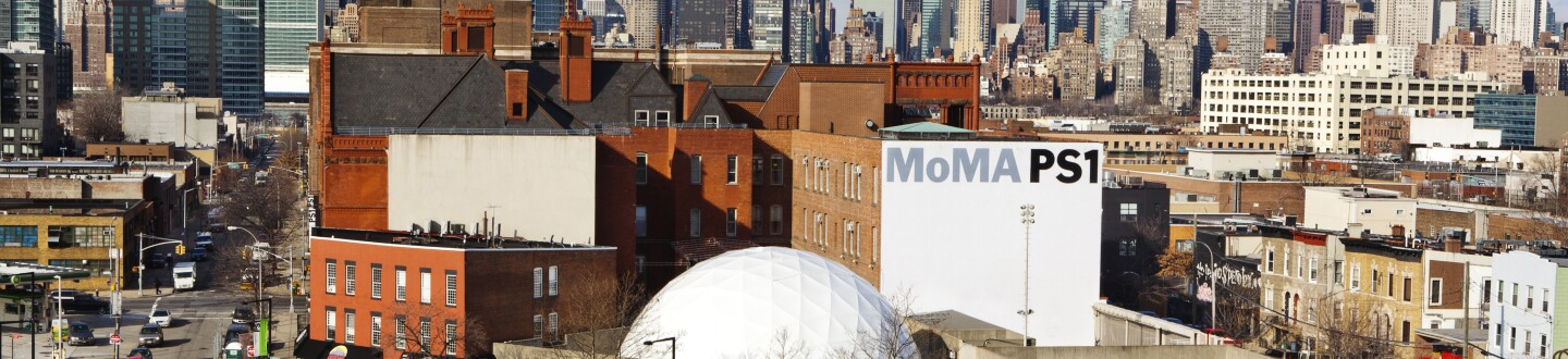 Exterior View, MoMA PS1