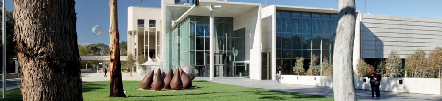 Exterior View, National Gallery of Australia
