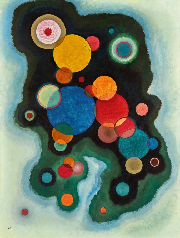 Wassily Kandinsky, Vertiefte Regung