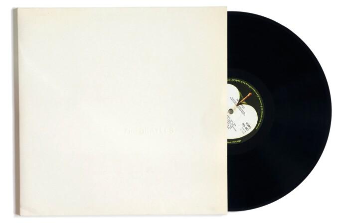 Photo of the The Beatles White Album