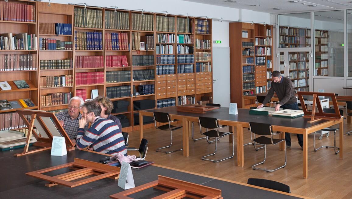 Interior View, Kupferstichkabinett
