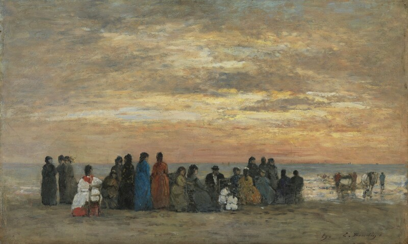 Figures on the Beach in Trouville