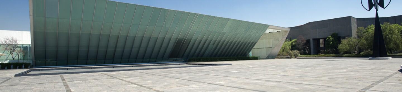 Exterior View, Museo Universitario Arte Contemporáneo