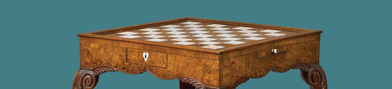 Hesketh Windsor ivory games table