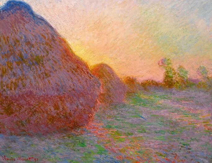 10067 Monet, Meules.jpg