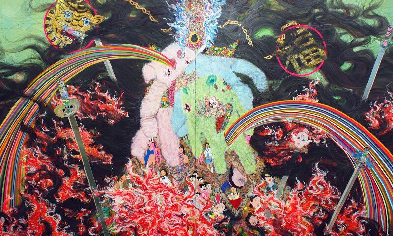 hyon gyon, flame, 2010.jpg