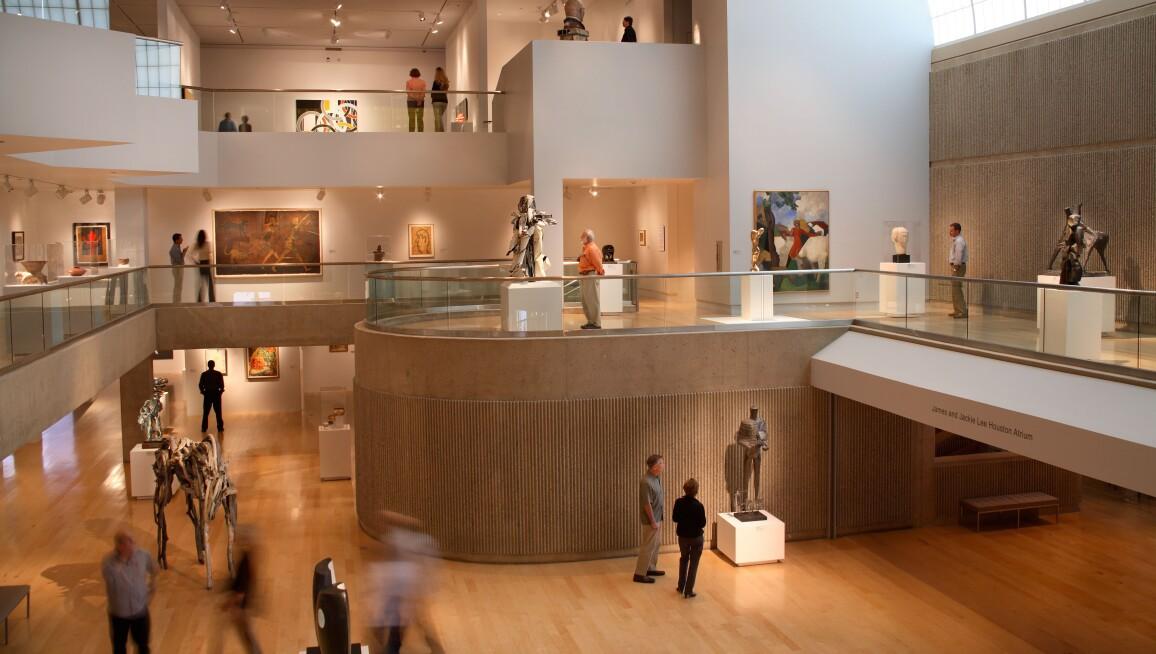 Interior View, Palm Springs Art Museum