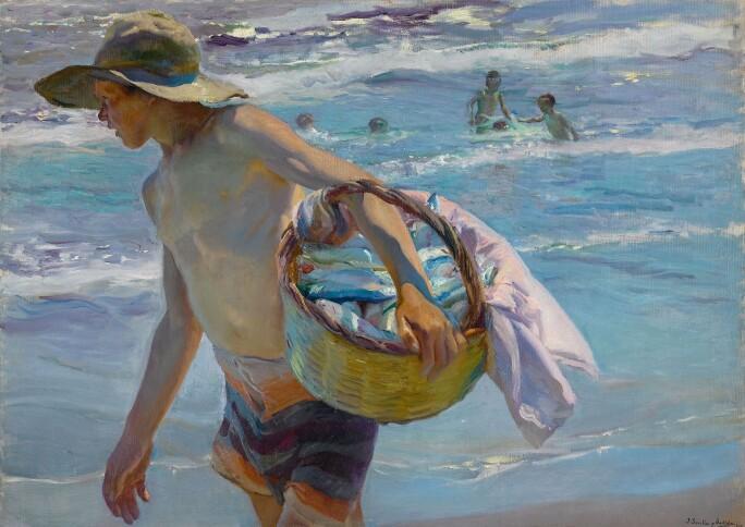 JOAQUÍN SOROLLA, Young Fisherman, Valencia, 1904