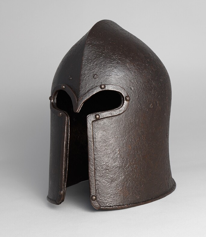Sallet in the 'Corinthian' style. Probably made in Milan by Antonio Missaglia. North Italian, c. 1450–70.