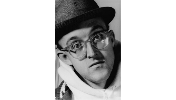 Keith Haring, Portrait 1989