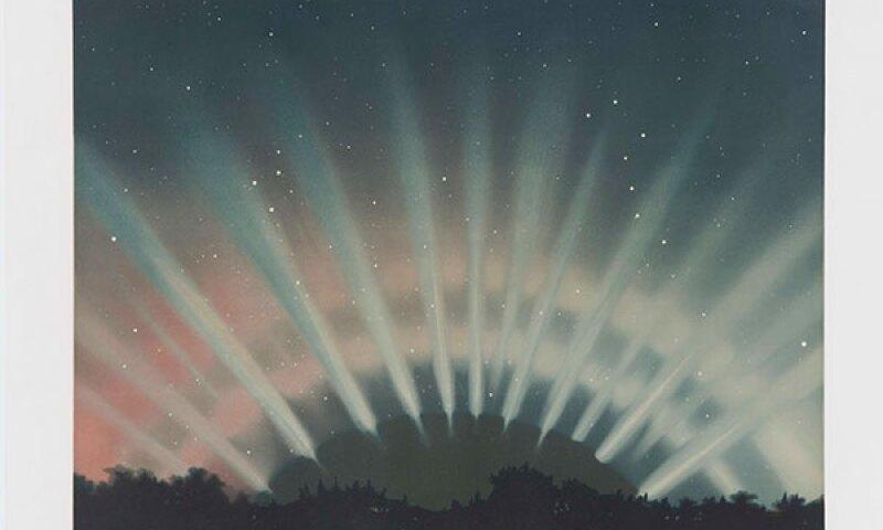 E. L. Trouvelot, Aurora Borealis