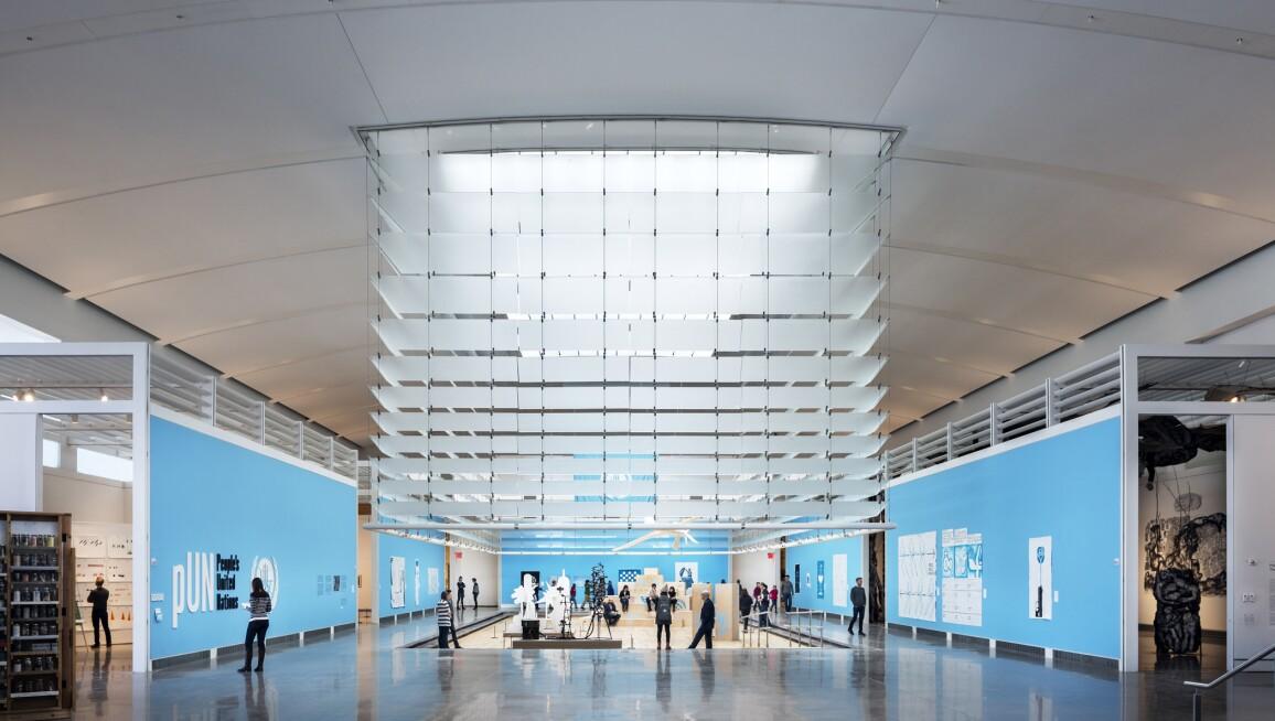 Interior View, Queens Museum