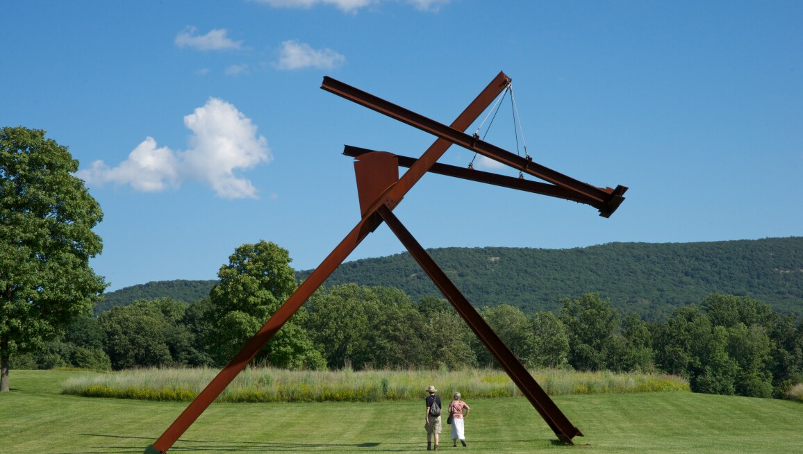 Exterior View, Storm King Art Center