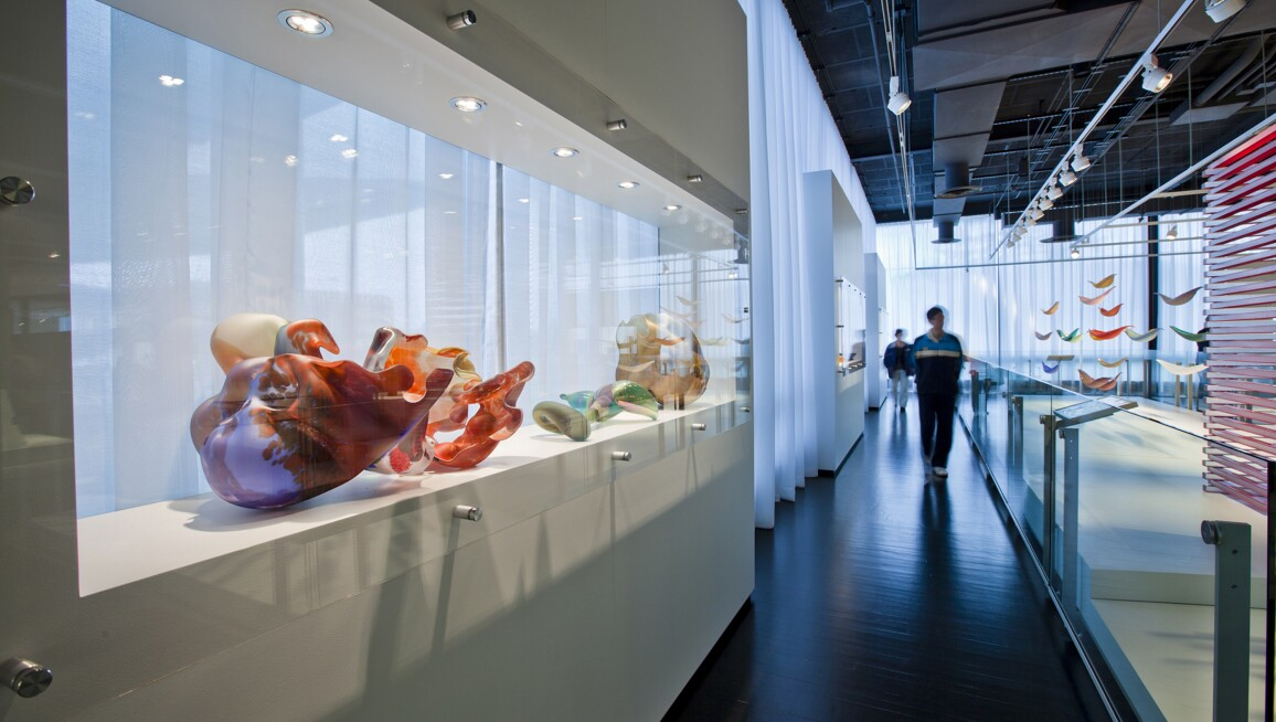 Interior View, Corning Museum of Glass