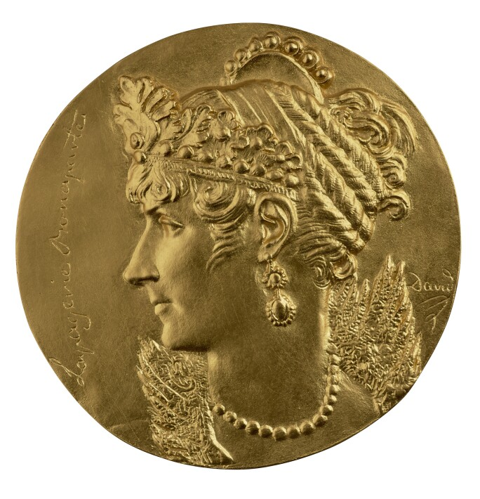 Pierre-Jean David d'Angers, Josephine Bonaparte (1763–1814); Empress Consort of France (1804–10); Queen Consort of Italy (1805–1810), (c.1832)