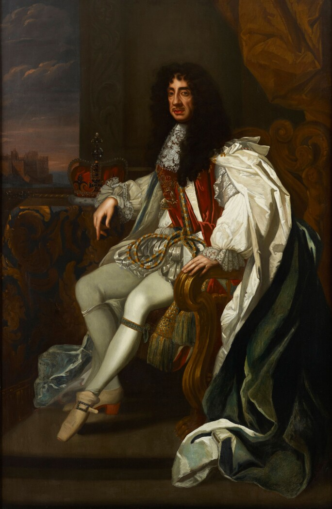 Portrait-Of-Charles-Ii-Of-England