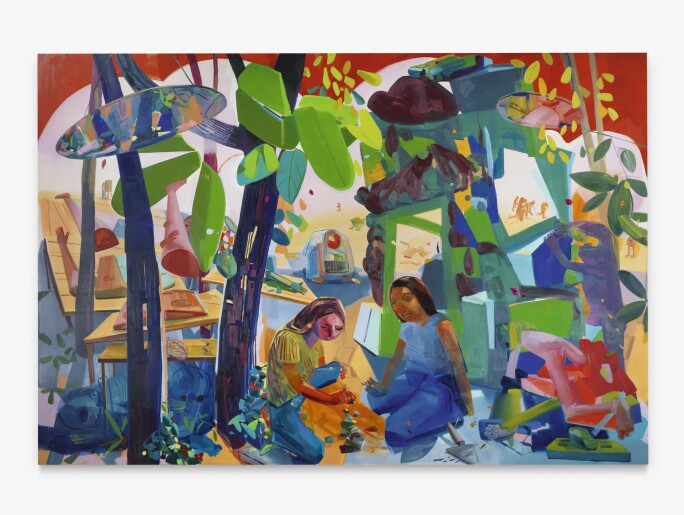 Dana Schutz, Civil Planning, 2004. Estimate $300,000–400,000.