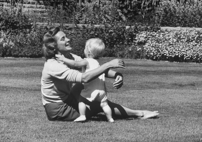 Mrs. Rockefeller & Son