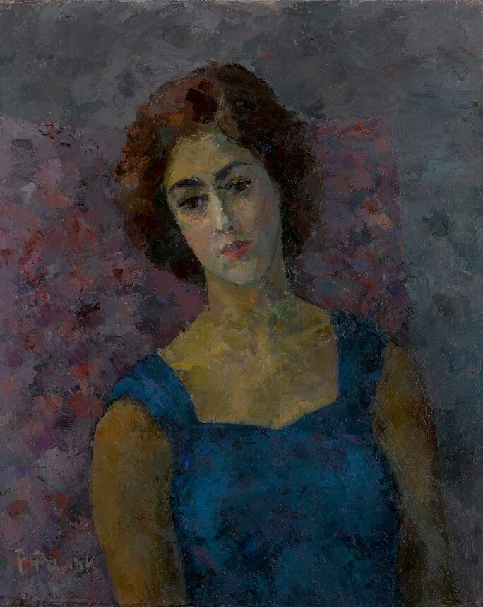 Robert Rafailovich Falk, Greek Woman Inna Costakis