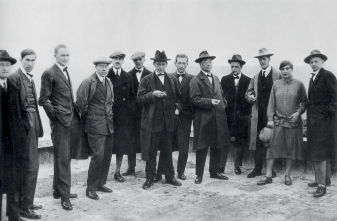 Members of the Bauhaus