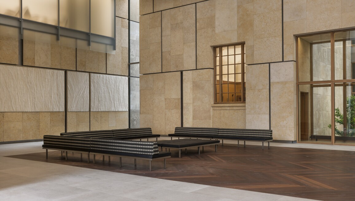Interior View, Barnes Foundation