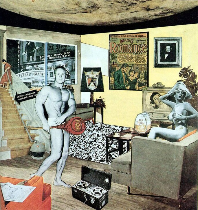 richard hamilton just what is it that makes today s homes so Des