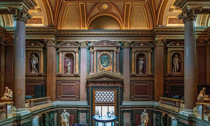 Fitzwilliam Museum, Interior