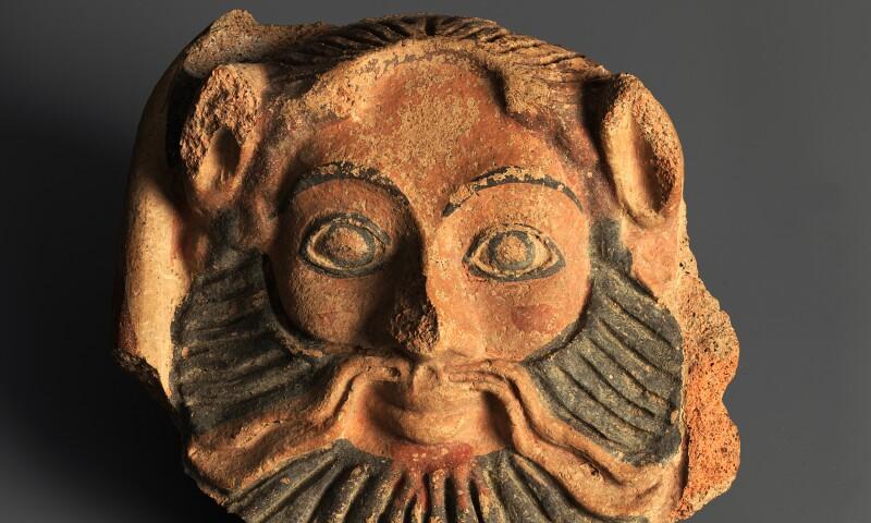 Satyrkopf, 5. Jh. v. Chr, Museum zu Allerheiligen Schaffhausen, Slg. Ebnöther