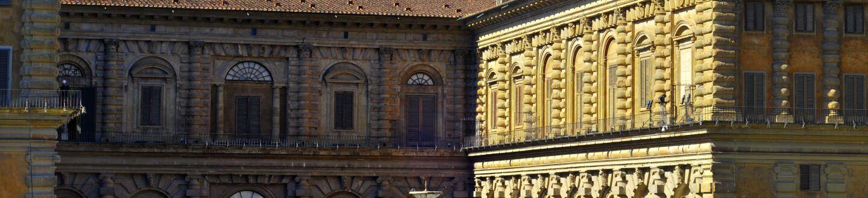 Exterior View, Pitti Palace Museum
