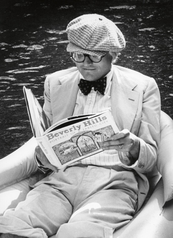 British artist David Hockney