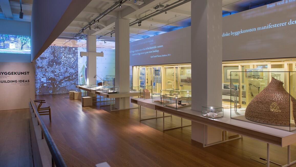 Interior View, Nasjonalmuseet - Arkitekture