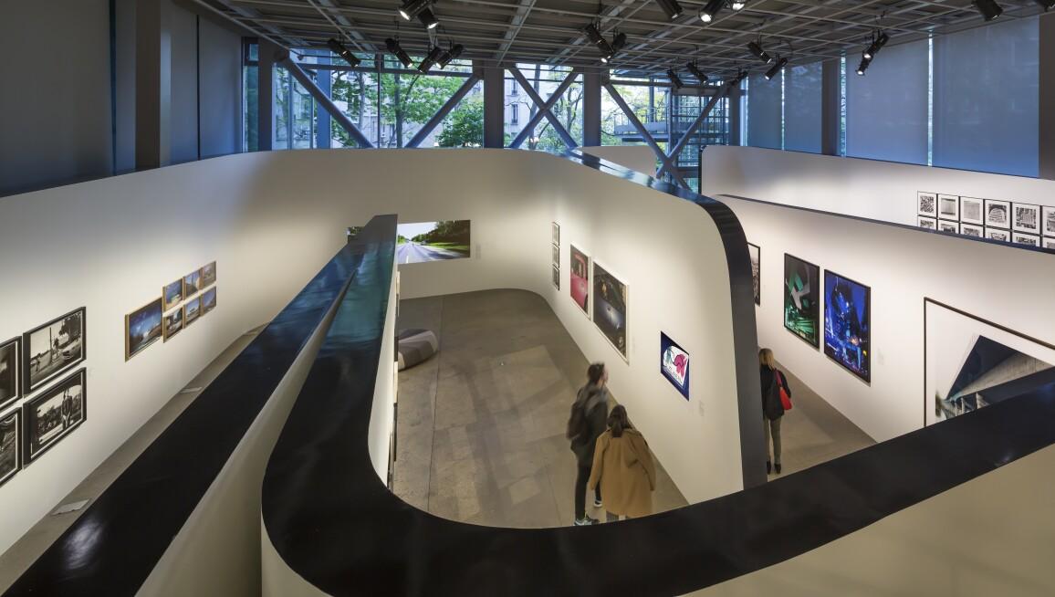Exhibition view of Autophoto, Fondation Cartier pour l'art contemporain, 2017