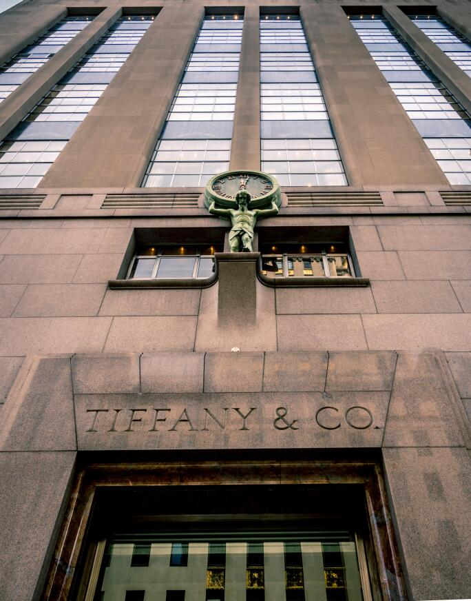 Tiffany and Co, flagship store, 5th Avenue, New York, USA.