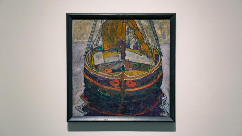 Escape and Experimentation in Egon Schiele's 'Trieste Fishing Boat'