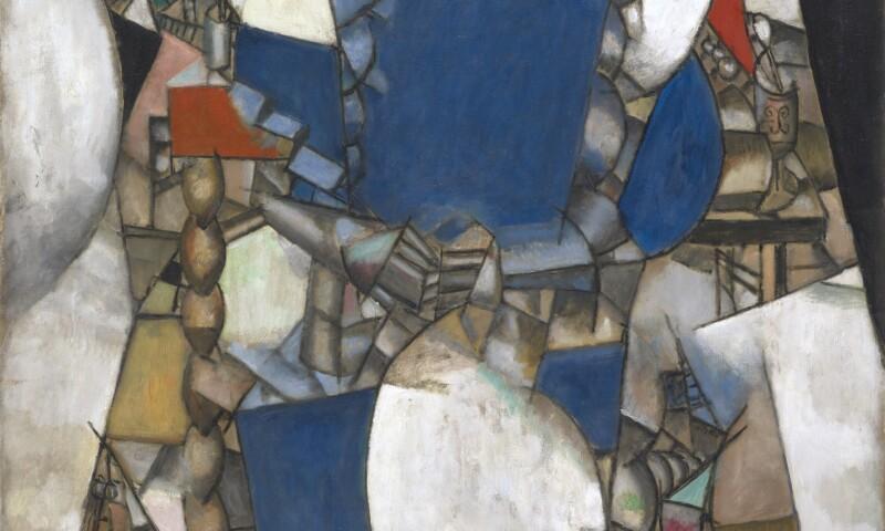 Fernand Léger; La femme en bleu; 1912