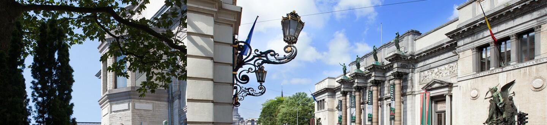 Exterior View, Musée Modern Museum, Musées Royaux Des Beaux-Arts de Belgique