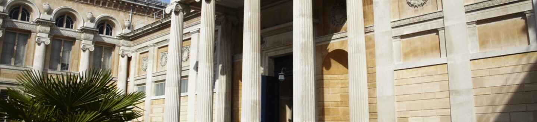 Exterior View, Ashmolean