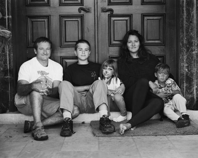 Collection of Marsha and Robin Williams: Family Portrait