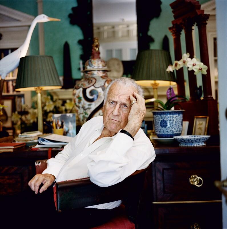 Sir John Richardson at home in New York City. Photograph by François Halard.