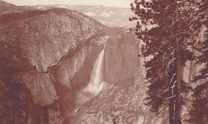 Eadweard Muybridge, Piwyack. Valley of the Yosemite