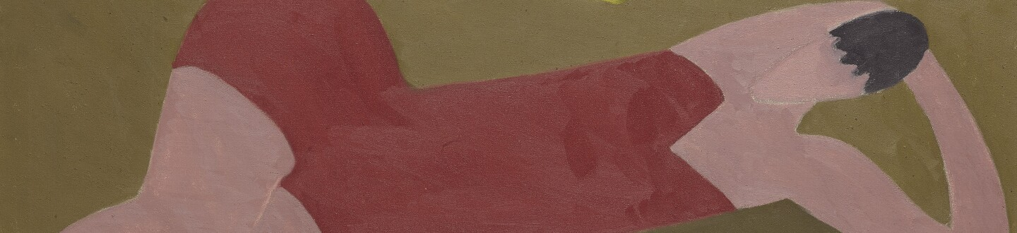 Milton Avery, TWO FIGURES ON BEACH, 1950. Estimate $1,200,000–1,800,000.
