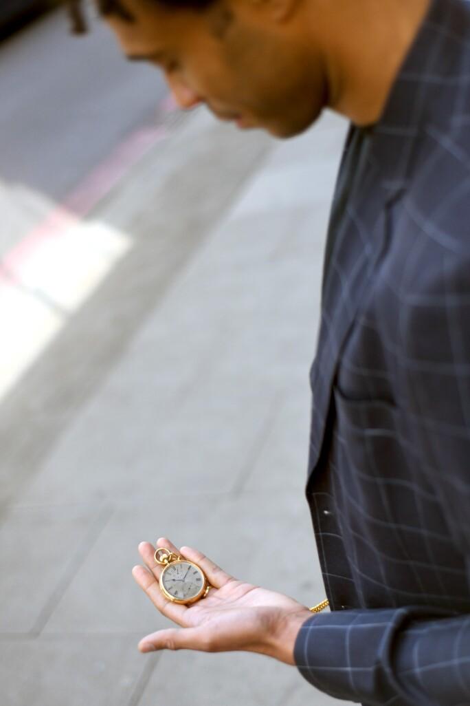 Charlie Casely-Hayford At Men's Fashion Week
